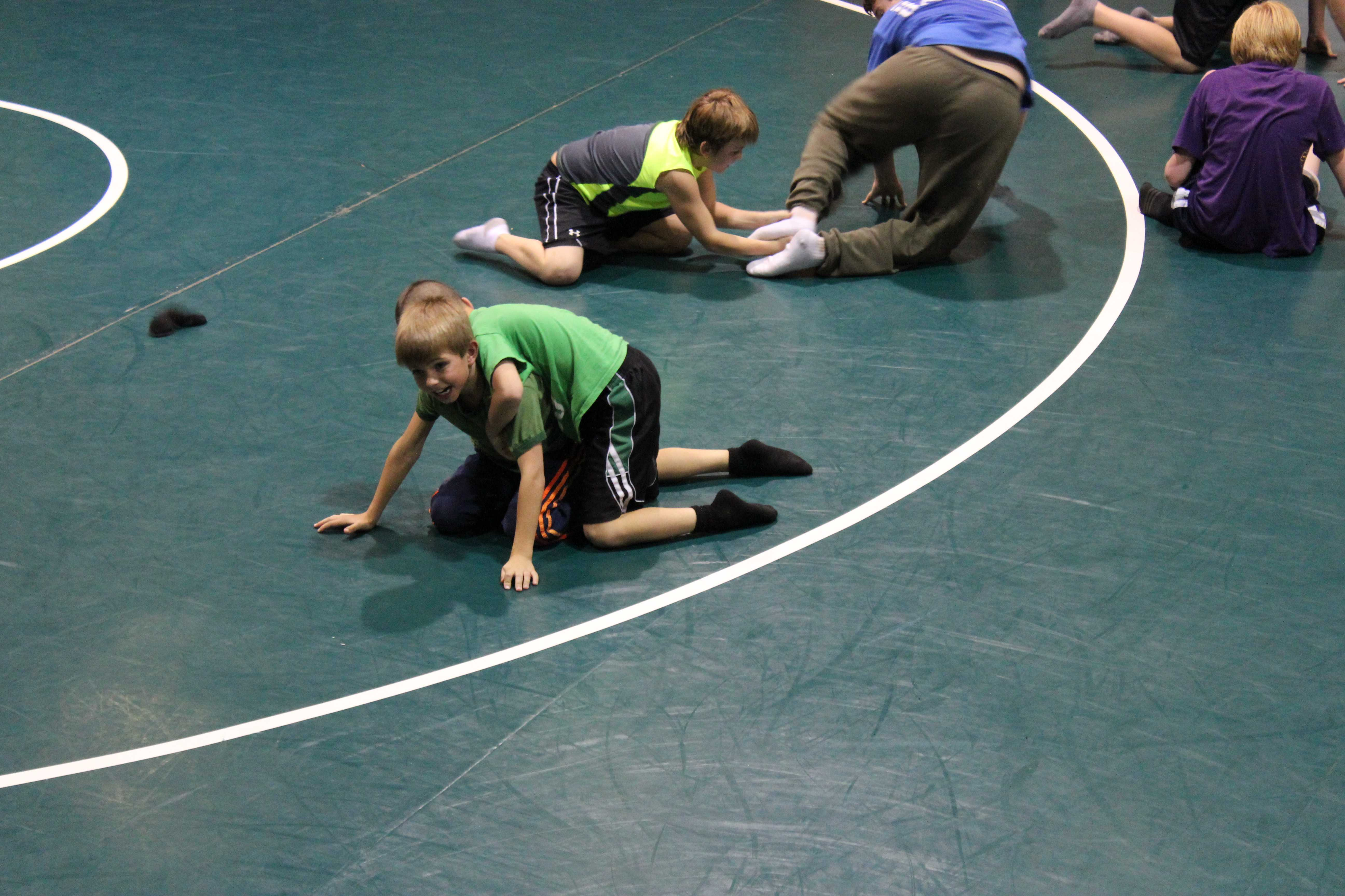 Little Wrestlers Make Big Progress