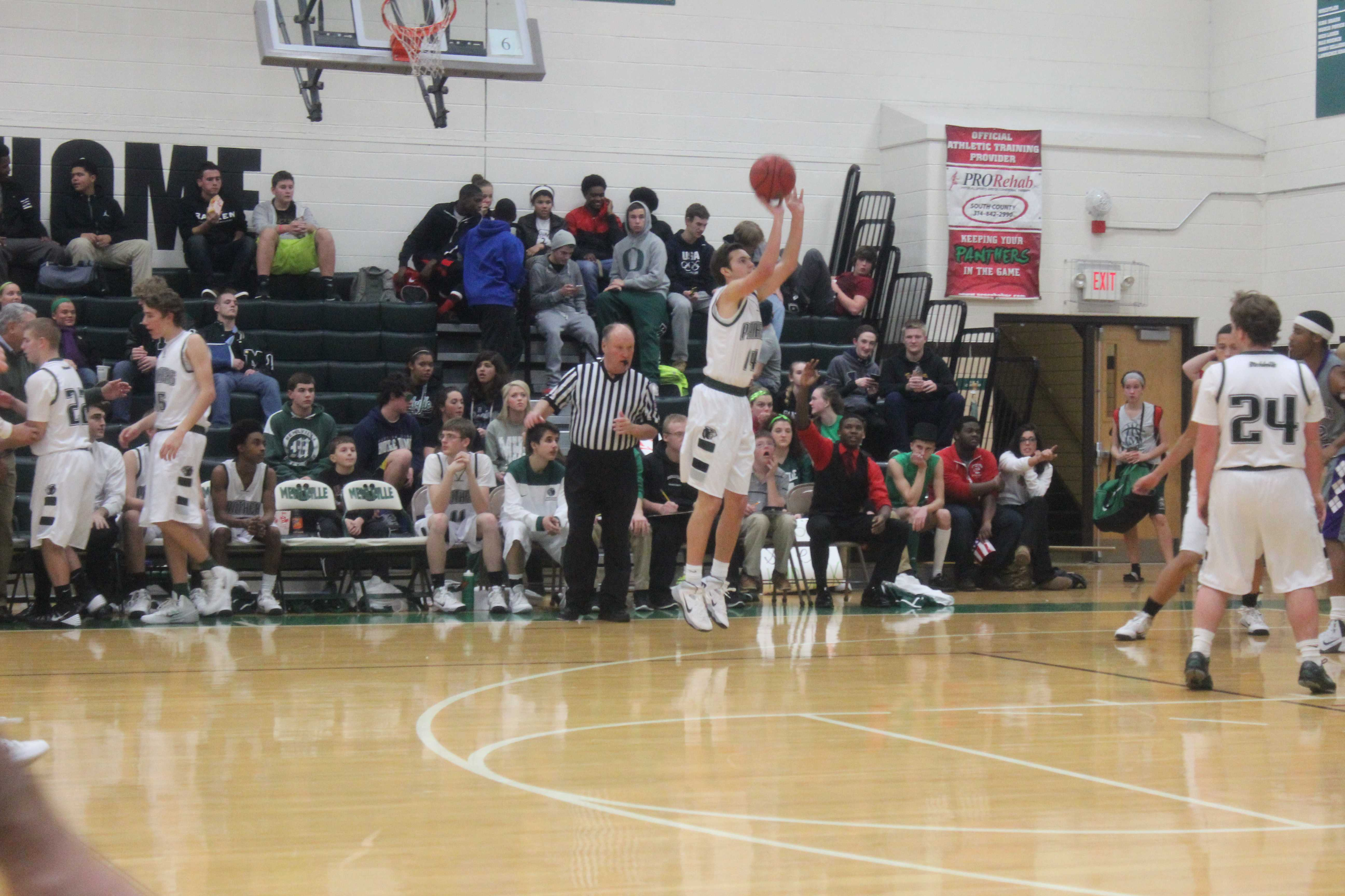 Mehlville Varsity Boys Basketball vs. Parway North
