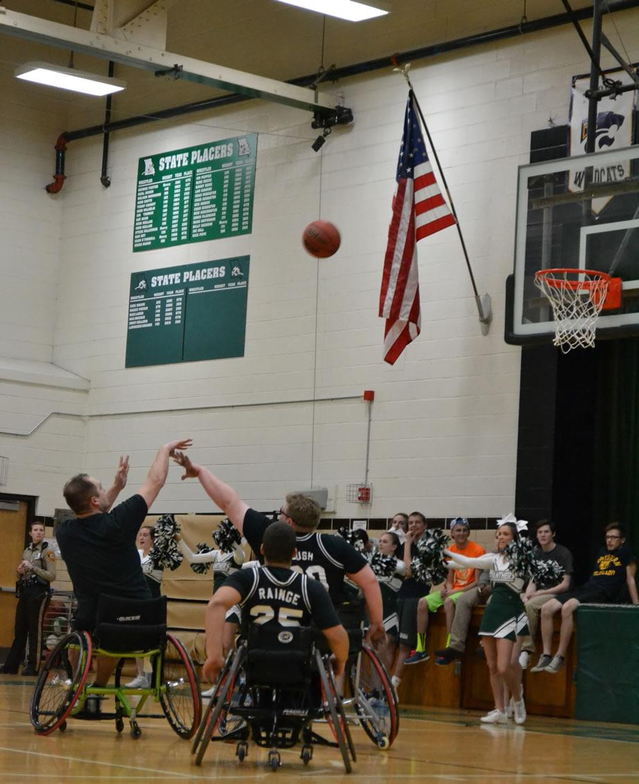 Wheelchair Basketball March 5, 2014