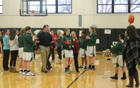 Girls Basketball Senior Night vs. Eureka 2/5/16