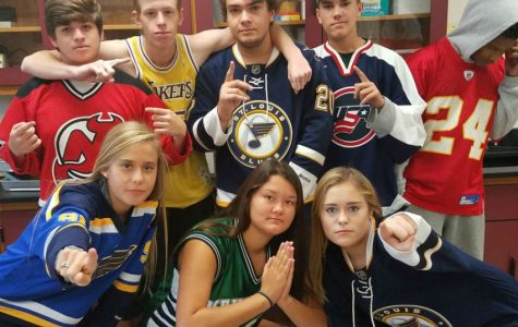 MHS Spirit Week : Jersey Day