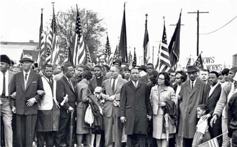 Marchers Walk 54 Miles to Montgomery