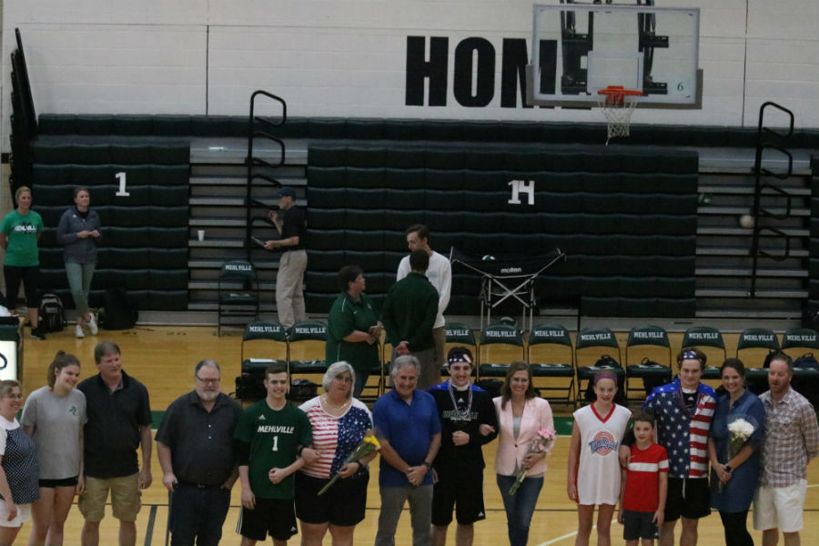 All of the Seniors with familes