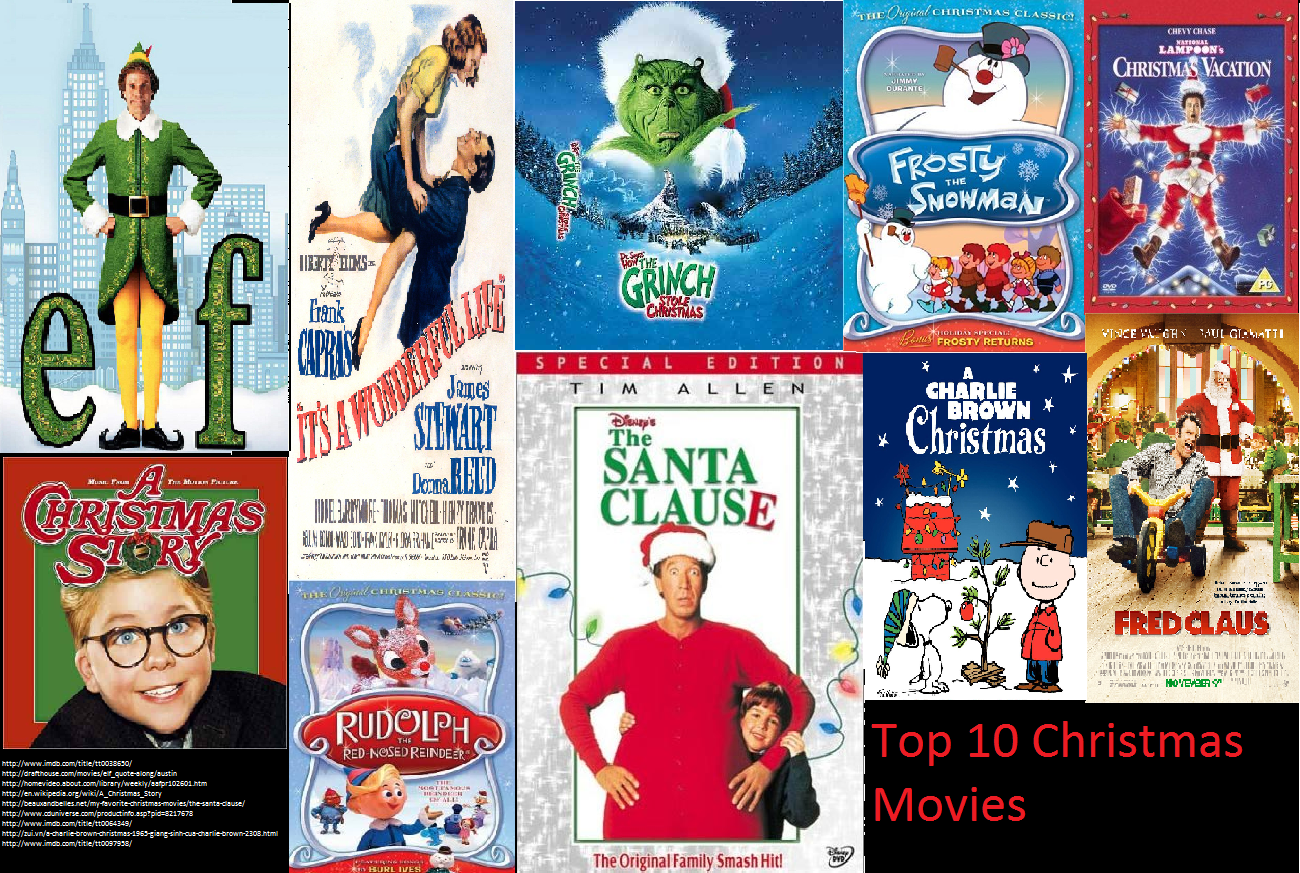 elf 2003 top 10 christmas movies - The Best Christmas Movies