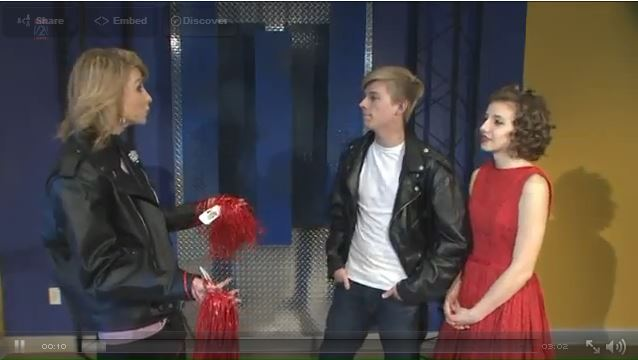Grease Cast Visits Fox 2 News