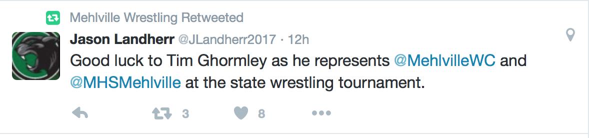 via Mehlville Wrestling's Twitter