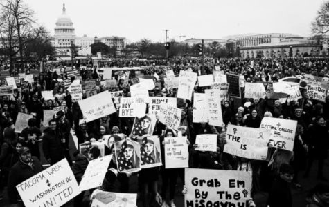 Women March Their Footprints Into History