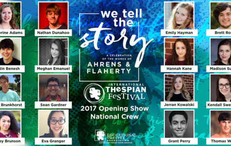 Adams Selected for International Thespian Festival