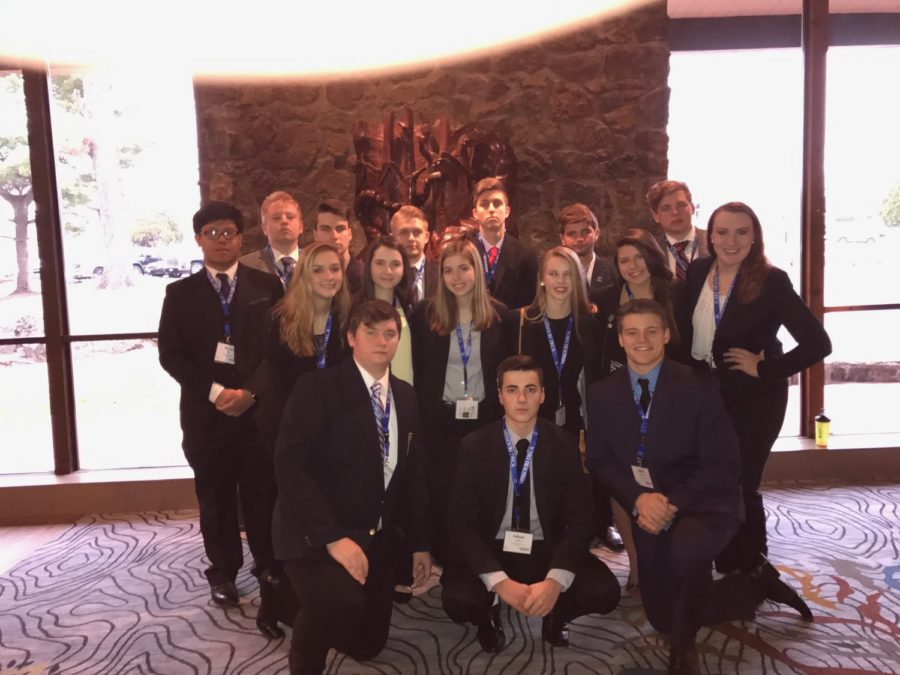 Success at DECA Districts