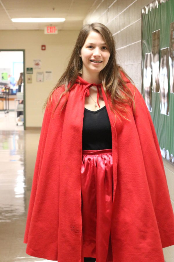 Halloween brought out some costumes at MHS.