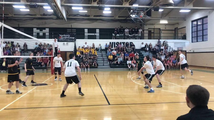 Volleyball Team Defeats Oakville on April 12