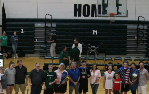 Volleyball's Senior Night