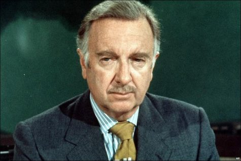 "Famed News Anchor and ""Most Trusted Man in America"" Walter Cronkite long represented integrity in America and its journalism.  Photo Courtesy of BBC"