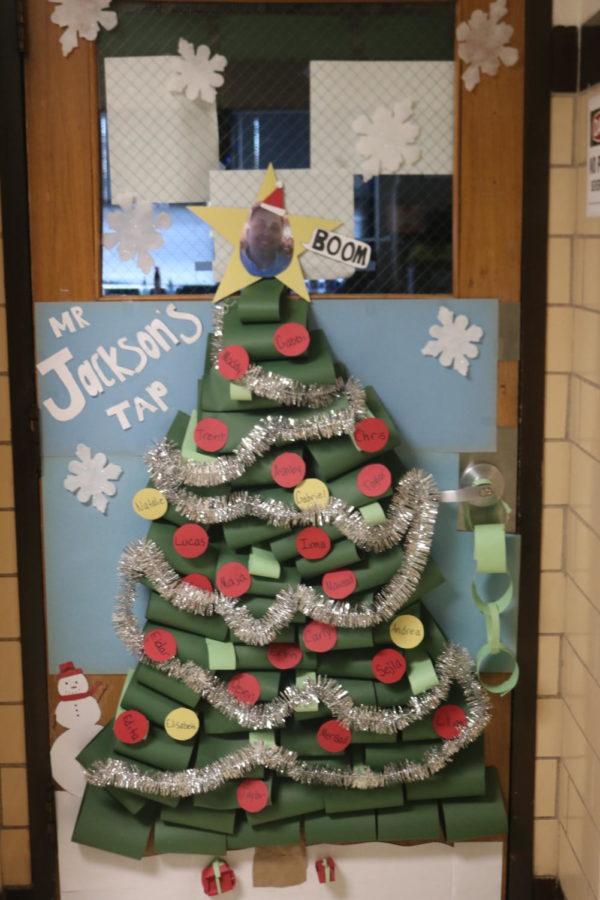 Door Decorating Entry: Room 118 Mr. Jackson