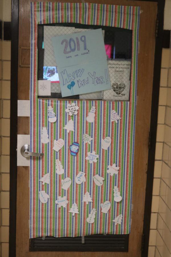 Door Decorating Entry: Room 110 Mrs. McCandliss