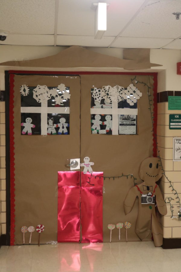 Door Decorating Entry: Room 106 Ms. Stout