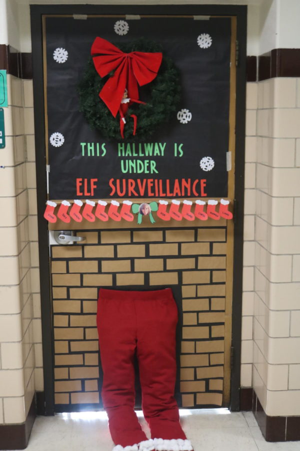 Winner of Door Decorating Contest: Room 209 Mrs. Landwehr
