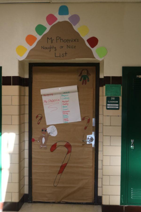 Door Decorating Entry: Room 210 Mr. Phoenix