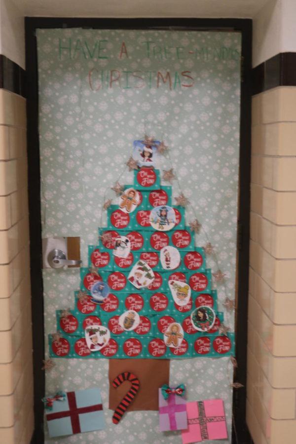 Door Decorating Entry: Room 214 Ms. Hormberg
