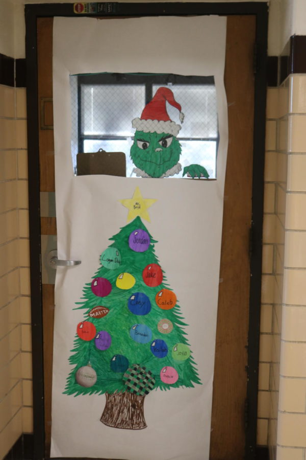 Door Decorating Entry: Room 220 Mr. Boyd