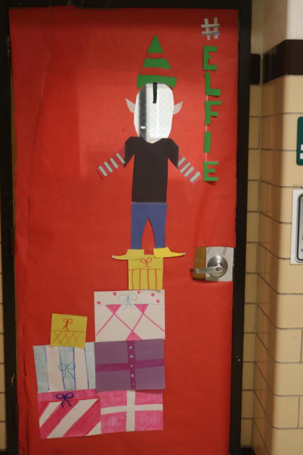 Door Decorating Entry: Room 309 Ms. Briggs and Ms. Lang