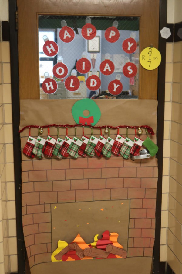 Door Decorating Entry: Room 317 Mrs. Forbes