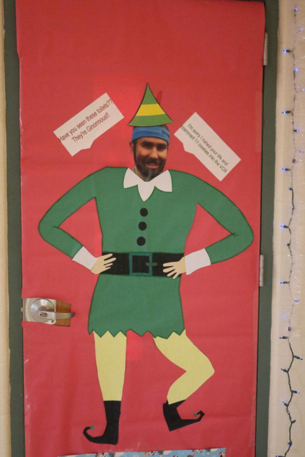 Door Decorating Entry: Room 338 Mrs. Ori
