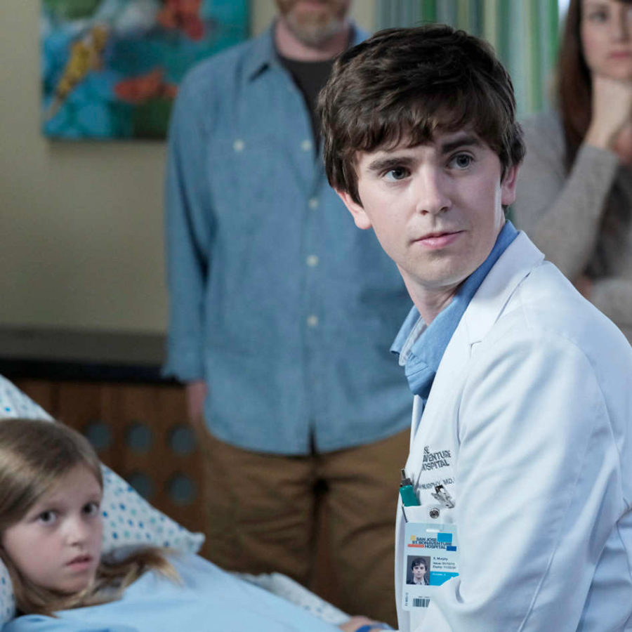 Shaun Murphy, played by Freddie Highmore, caring for a patient at St. Bonaventure Hospital.   Photo couretsey to ontheaside.com