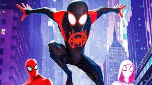 Spider-Verse is the first animated Spiderman movie.