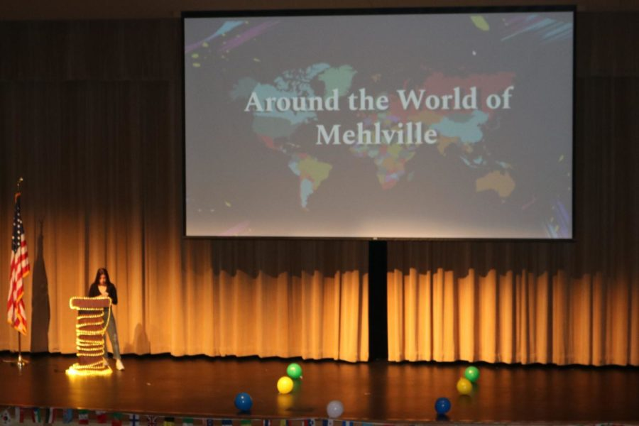 +Annual+freshman+assembly+Around+the+World+of+Mehlville+