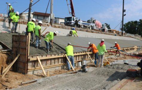 Bleacher Construction Relocates Football Game to Oakville