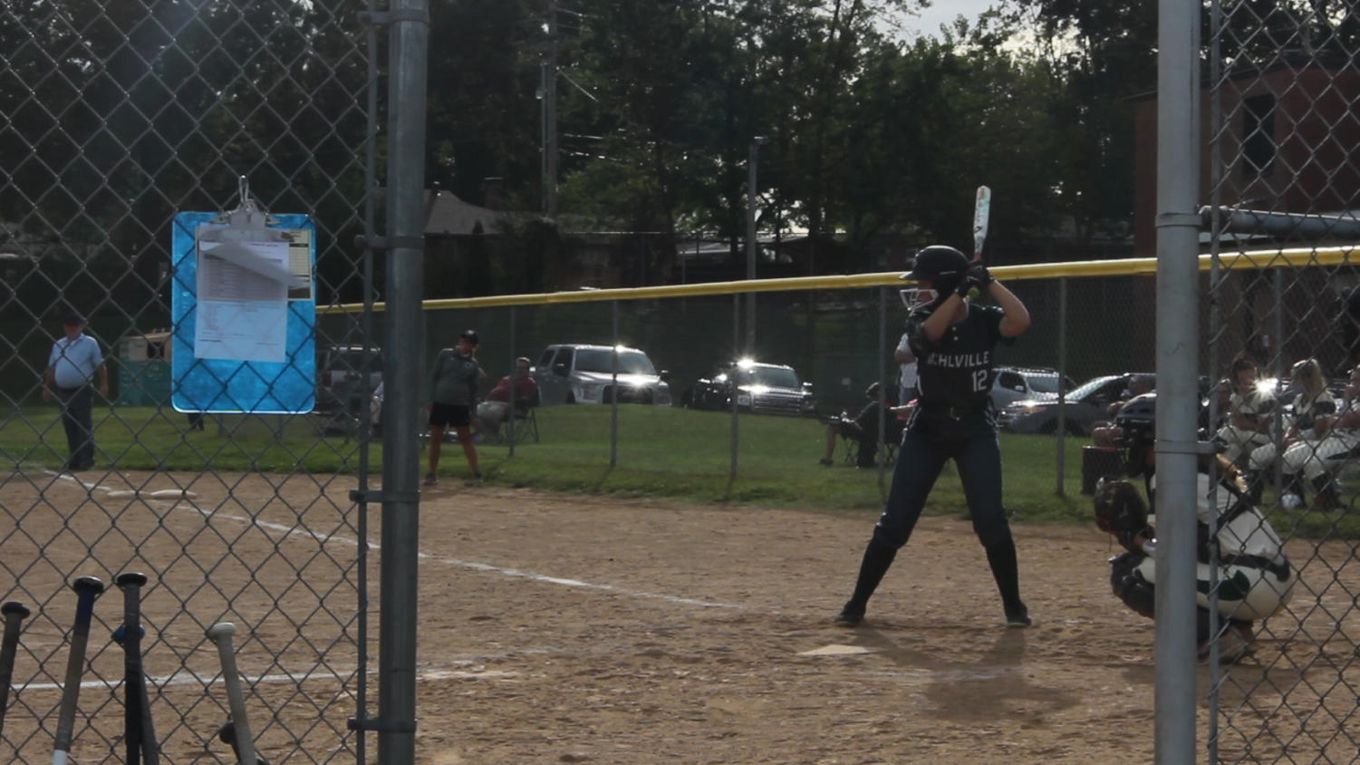 Taylor Kordik batting against Lindbergh.