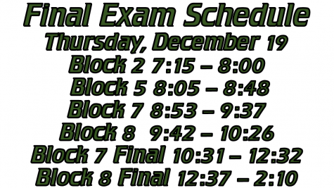 Updated Schedule for Dec. 19