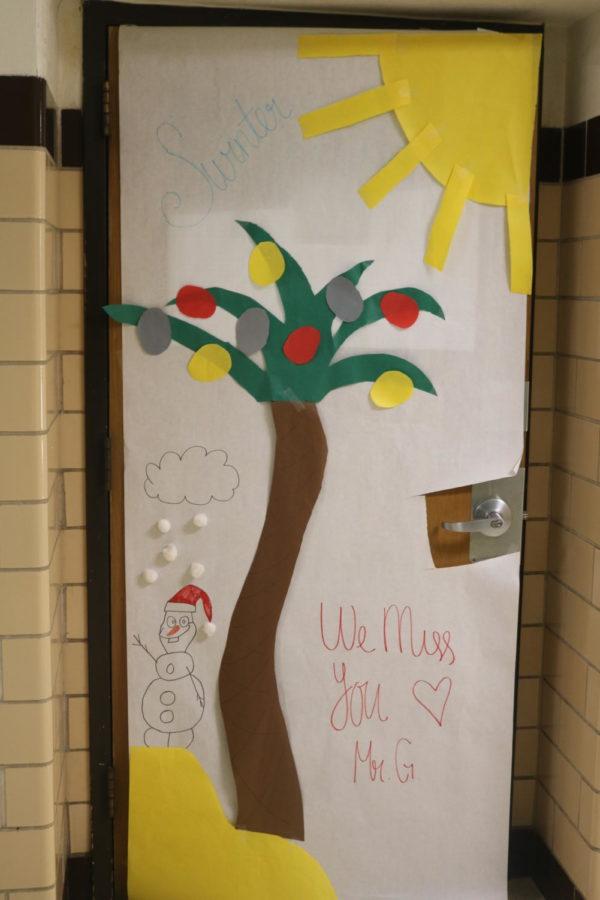 Mr. Gulath's door takes us to summer in winter