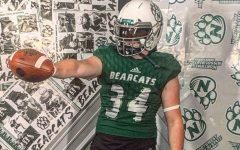 Charlie Galentine committed to Northwest Missouri State University to further kicking.