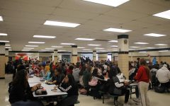 Overcrowded lunches are just one reason school administration should  consider offering an open campus option for lunch.