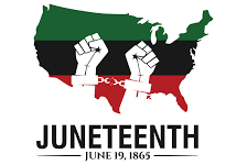 Celebrate and acknowledge African American history with Juneteenth.