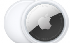 AirTag by Apple starts at $29 and uses a secure Bluetooth signal.